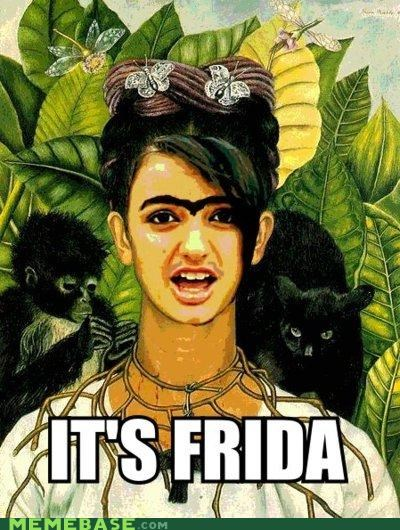 frida,FRIDAY,painter,panther,Rebecca Black