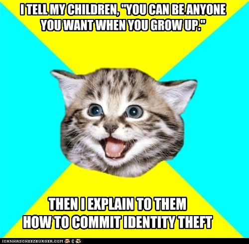 growing up Happy Kitten hard to do identity theft kids - 4746756608