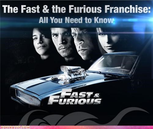 Fast and Furious infographic Movie - 4746959360