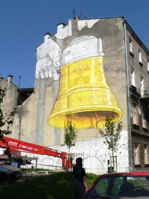 Blu,poland,Street Art