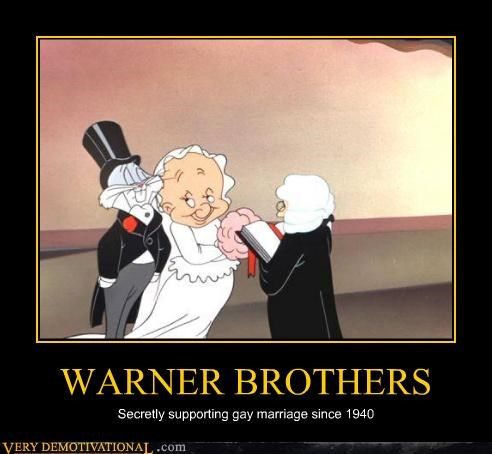 1940,cartoons,gay marriage,hilarious,warner brothers