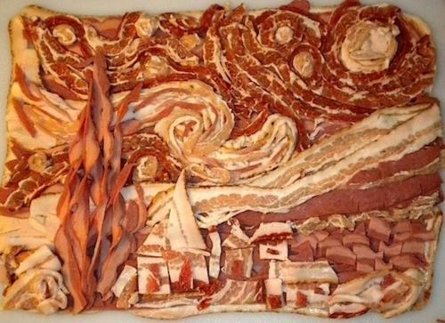 Bacon Contest Fine Art The Starry Night Van Gogh - 4747586048