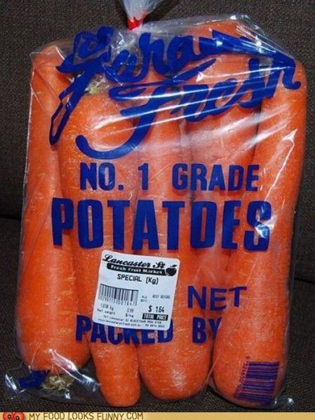 bag carrots potatoes produce vegetables - 4747787008