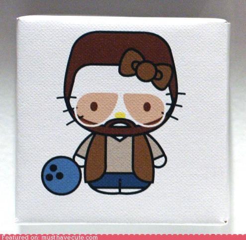 art hello kitty print - 4747792128