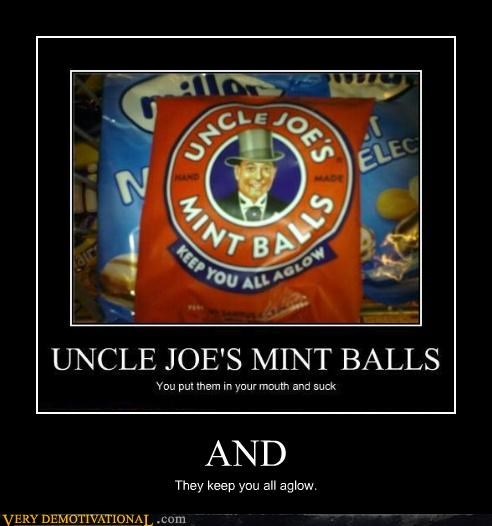 aglow hilarious snack uncle-joes-mint-balls wtf - 4748028160