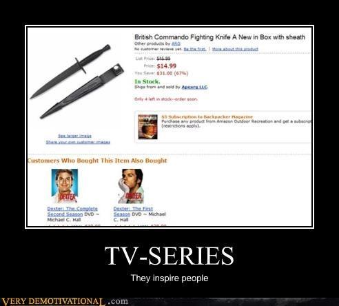 Dexter knife Terrifying TV - 4749376000