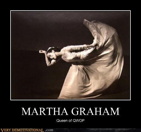 hilarious Martha Graham QWOP video games wtf - 4749595392