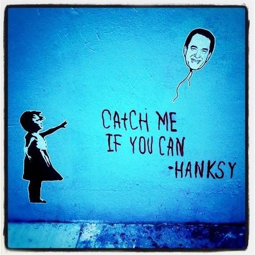 banksy Hanksy Street Art - 4749640192