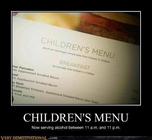 bad idea booze children hilarious - 4749782016