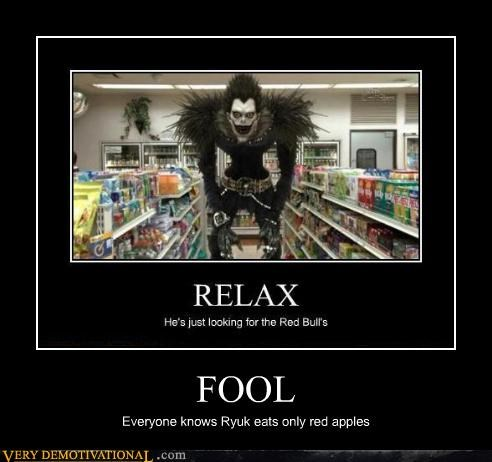 apples,hilarious,ryuk