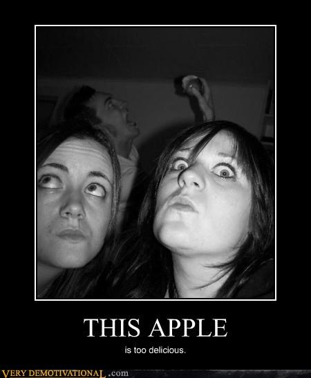 apple,excited,hilarious,photobomb
