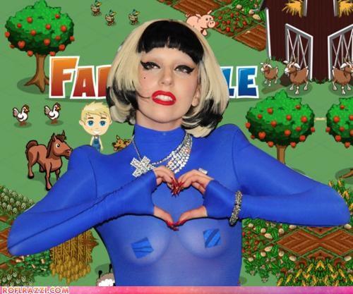 facebook Farmville internet lady gaga Music - 4750209024