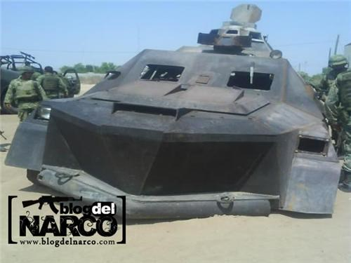 drug cartels FAIL Los Zetas mexico tanks Tech vehicles - 4750297344
