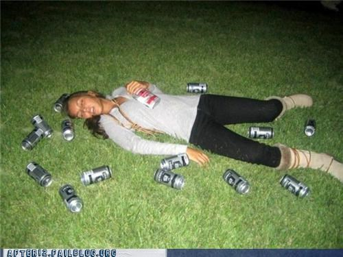 beer drunk outside passed out - 4750376704
