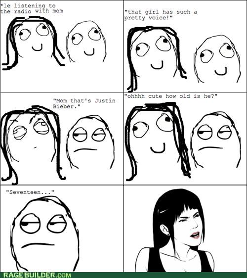 are you kidding justin bieber Rage Comics really seventeen - 4750631680
