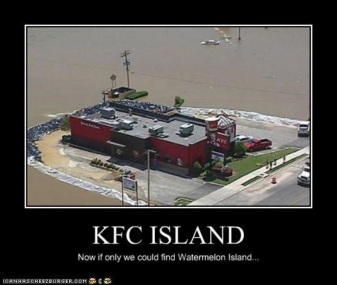 KFC ISLAND Now if only we could find Watermelon Island...