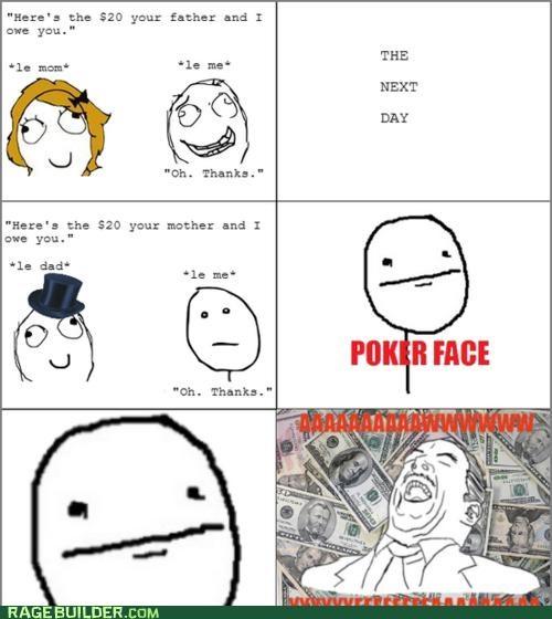 money parents Rage Comics thanks trap - 4750756608