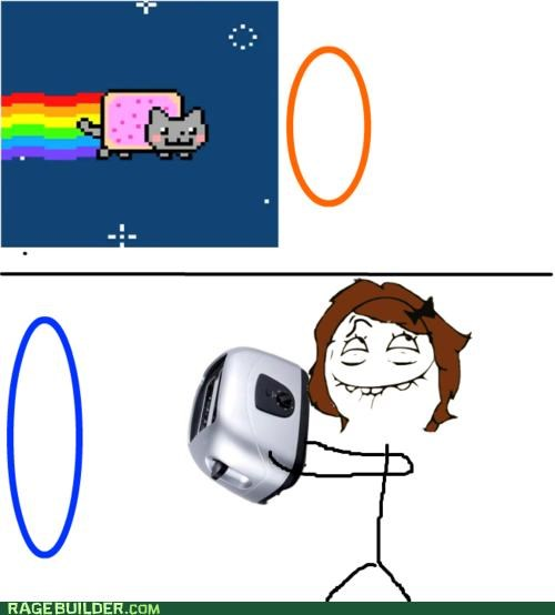 cooking,nyancat,Rage Comics,teehee,toast