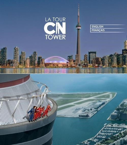 CN Tower Extreme Tourist Attractio Look Ma No Hands Top of the World Ma toronto - 4750848256