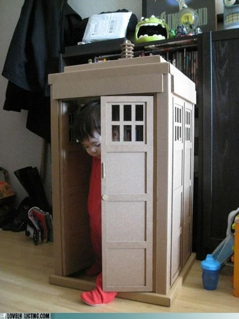 doctor who,furniture,kid,phone booth,tardis