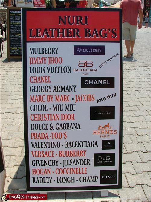 bag sign - 4751156224