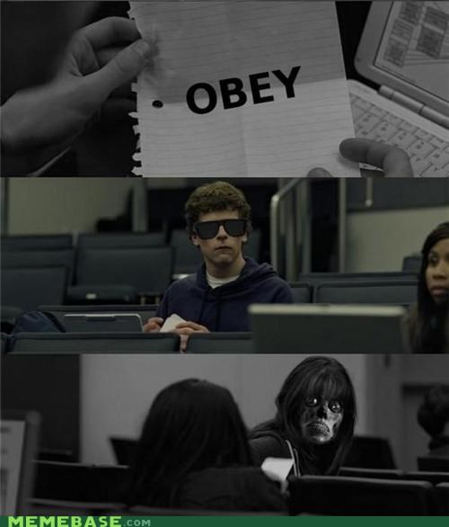 facebook,From the Movies,social network,they live