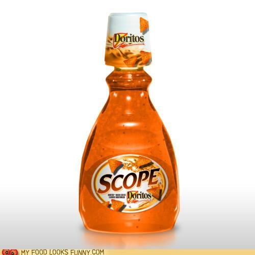 cheese doritos flavor mouthwash scope - 4751468288