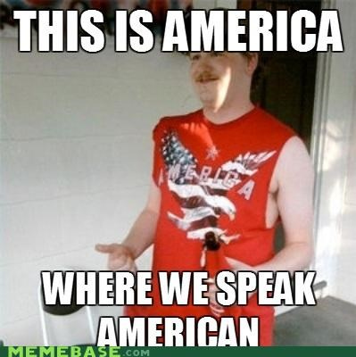 america american english language redneck randal speaking - 4751640320