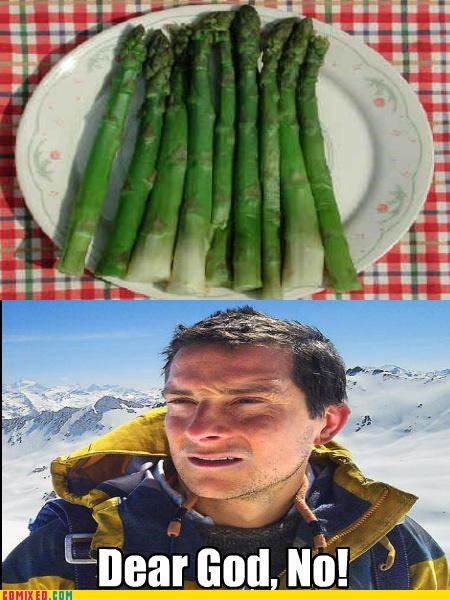 asparagus,bear grylls,eww,the internets,urine