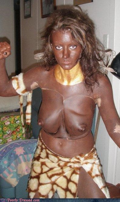 blackface costume prosthetics racist - 4752623104