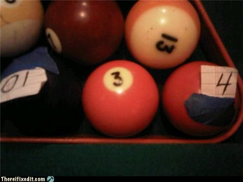 paper pool pool table Professional At Work - 4753000192