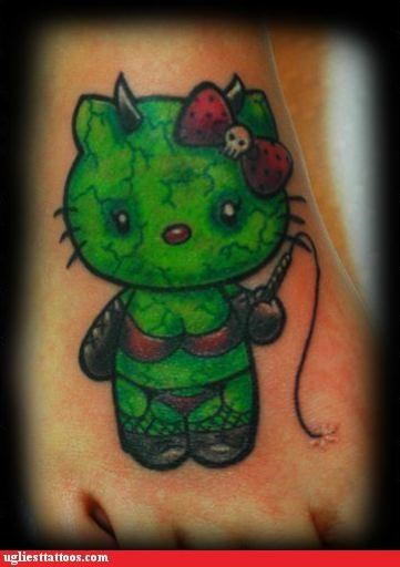 animals,cartoons,Cats,hello kitty,pop culture,sexual,ZOMBIE WEEK,zombie