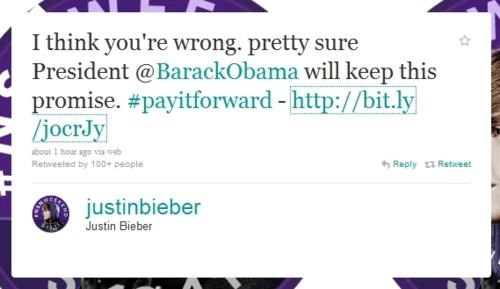 justin bieber,potus,So This Happened
