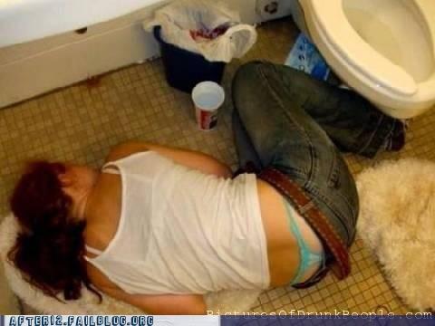 bathroom passed out thongs undies - 4753791232