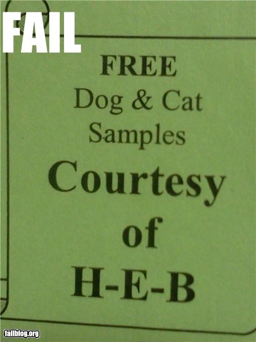 Ad,animals,Cats,dogs,failboat,free,g rated,samples,weird