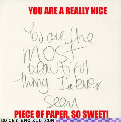 beautiful emolulz message paper wtf