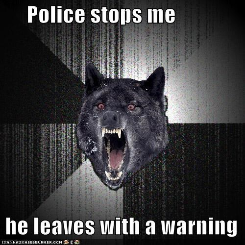 Insanity Wolf police speed trap warning - 4754101760
