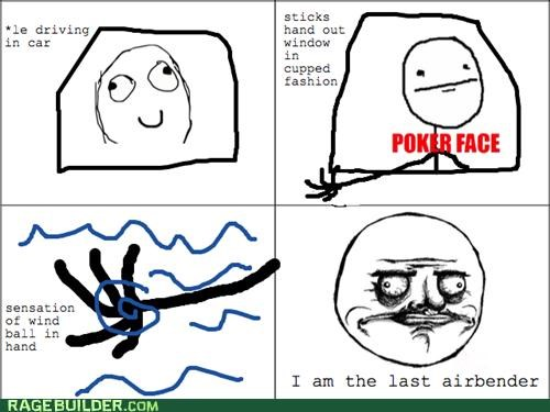 air airbender Avatar ball Rage Comics window - 4754182656