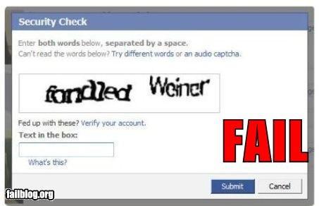 captcha facebook failboat internet p33n weiner - 4754268416