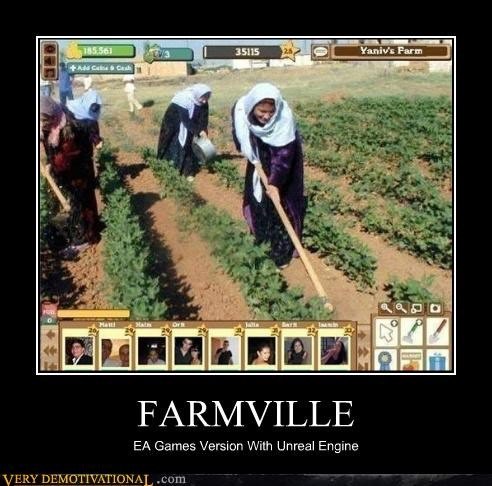 FARMVILLE EA Games Version With Unreal Engine