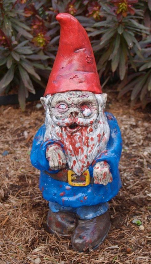 Zombie Garden Gnome,Zombified Thing