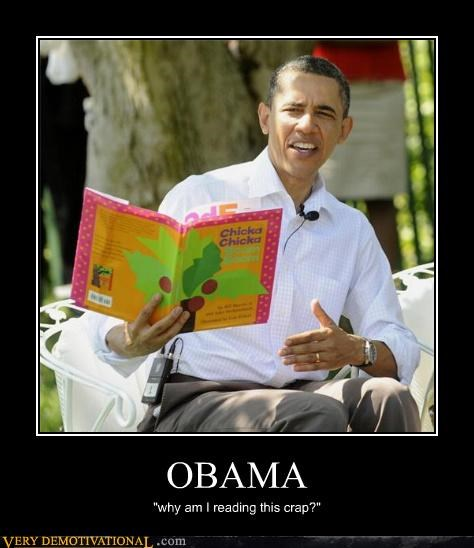 book,hilarious,obama,question,reading