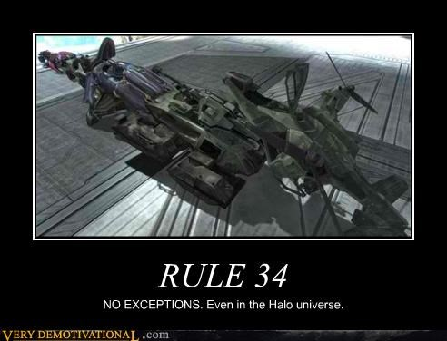 exceptions halo hilarious Rule 34