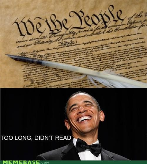 declaration independence Memes obama tldr - 4754880256