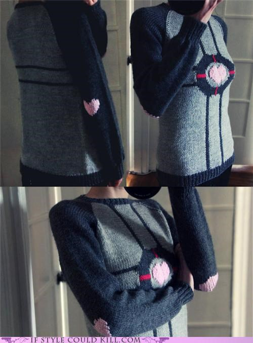 cool accessories,DIY,Knitted,Portal,sweater