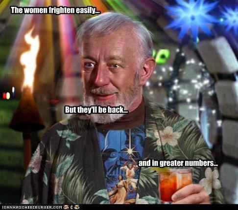 actor Alec Guinness celeb fake sci fi shoop star wars - 4755240960