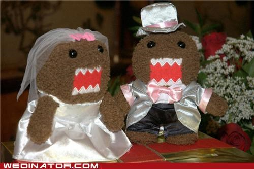 domo,funny wedding photos,Japan