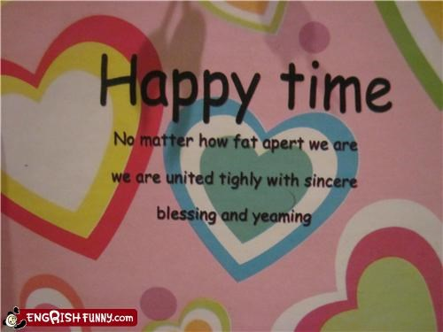 engrish,happy,time