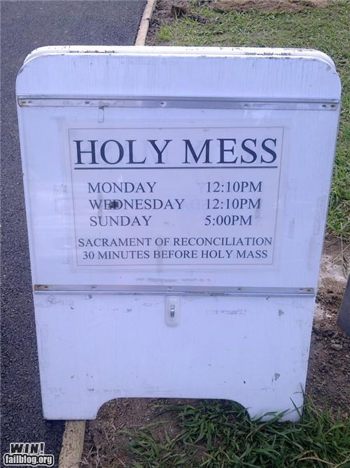 accidentally,churhc,religion,signs,spelling
