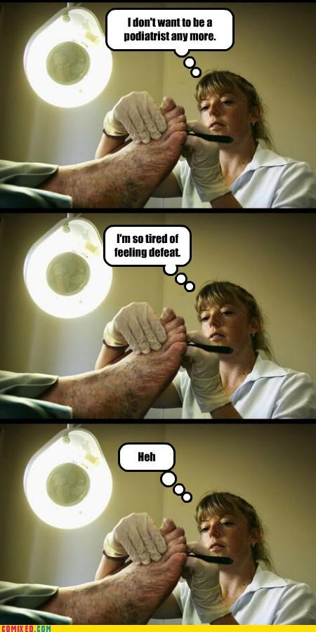 feet joke podiatrists pun